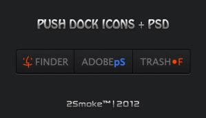 Push Dock Icons + PSD by neodesktop