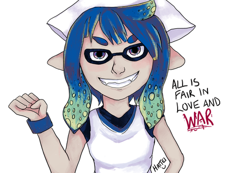 [Splatoon]: Love/War by HattieDraper