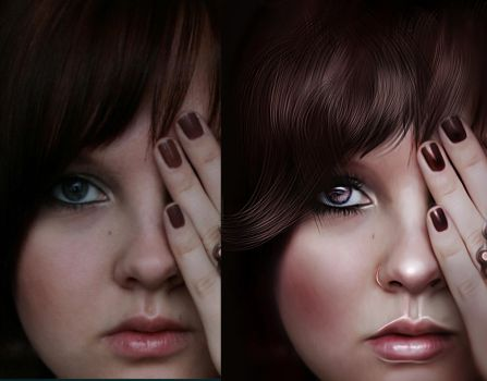 Painted Look Makeover by Children7