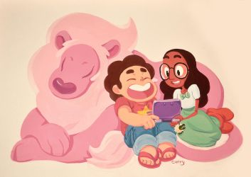 Steven and Connie by curry23
