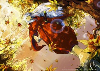 InuYasha:Autumn by Qsan90