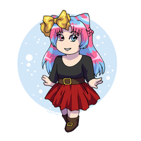 Commission - Xmas Chibi by ErinPtah