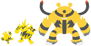 Elekid, Electabuzz and Electivire Base