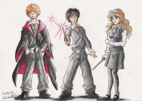 Harry Potter by GraphiteFalcon