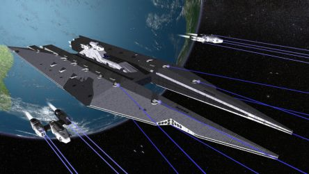 Flagship Opening Fire by Harris2300