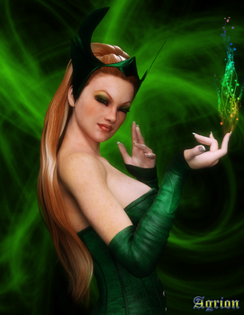 Amora the Enchantress by Agr1on