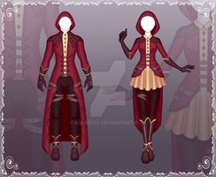 [Close] Adoptable Outfit Auction 97-98 by Kolmoys