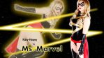 She is Ms. Marvel. by 008Zulu