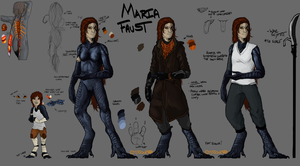 Maria Faust - 2016 by Tytoquetra