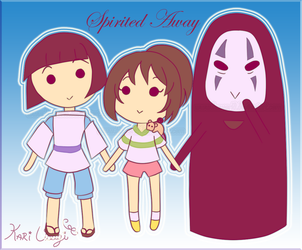 Spirited Away by Kari-Usagi