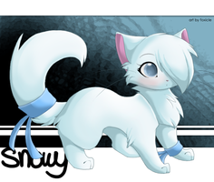 Snowy for Cutie5987 - TRADE by foxicle