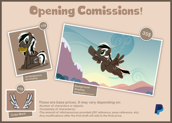 Comissions are open! by Spectty