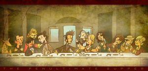 Doctor Who Penultimate Supper by raisegrate
