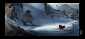 encounter in the mountains by TheBeke