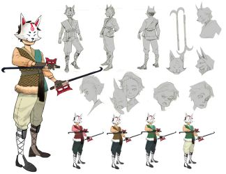 Character design - Ding Wong by addixii