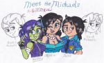 Meet the Michaels by gilster262