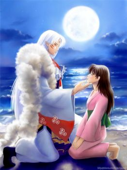 Request: Sesshomaru and Rin by starca