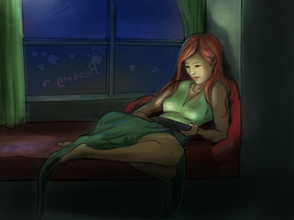 2014-11-27 - Reading by iamniquey