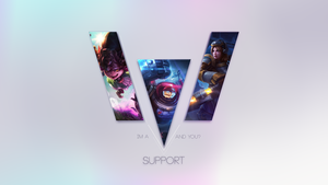 I'm A Support! And you? by Nakan0i