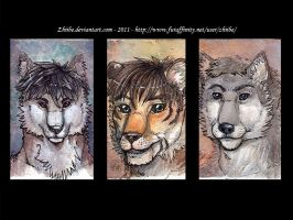 Badge Batch 003 by Zhiibe
