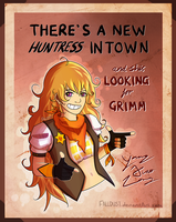 Yang Xiao Long by Falldust