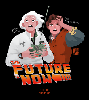 The Future is Now by Tengu-Arts