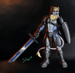 [Commission] for Zeric by silver-paw89