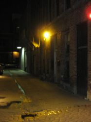 Alleyway lamps 4 by SAPOMstockxtras