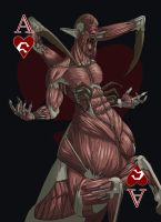 Ace of Hearts - Nuckelavee by Kaiazes