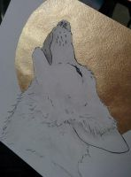 Howling Wolf by Chayt