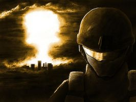 World War 3 Nuclear war by jose144