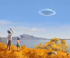 UFO by AndrewRybalko