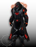 Red Eyes Darkness Dragon Balance Breaker Warlock by Hellmaster6492