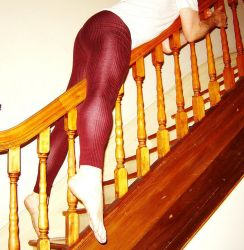 Riding the Banister by TightsBoi