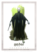 Day 3- Voldemort by Eddy-Swan-Art