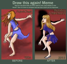 Paint Chat Girl Remade.. by Astarsia