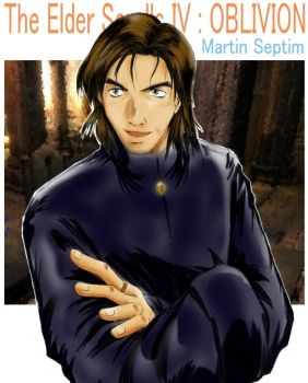 Martin Septim  'Chat' by Miari-Juvas