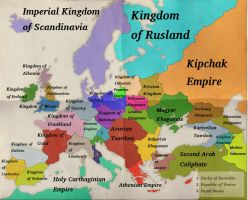 Europe-1820 by Artaxes2