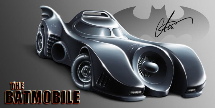 The Batmobile (Finished) by LierACC