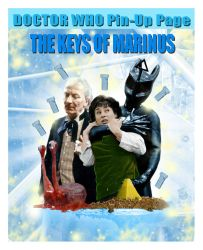 DOCTOR WHO Pin-Up Page 42: The Keys Of Marinus by tyrannus1
