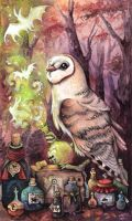 Magic Barn Owl by kiriOkami