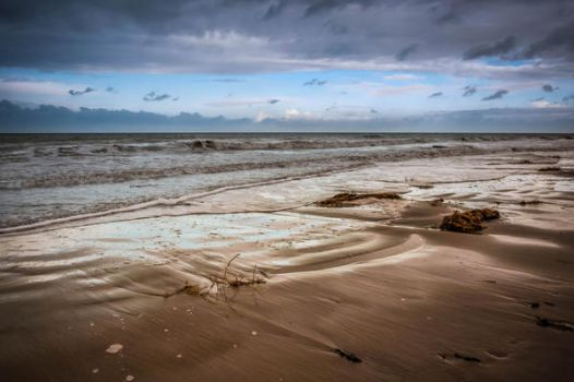 Beach the end of November by Laurent-Dubus