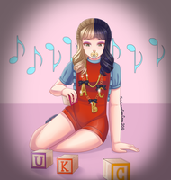 Alphabet Boy - Melanie Martinez by kurokurokochingching