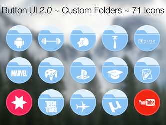 Button UI 2.0 ~ Custom Folders by BlackVariant