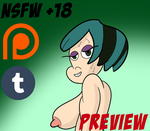 Gwen on Duncan's cock (Preview) by Sonic2125