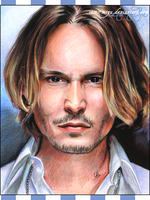 Johnny Depp. by cam-miyu