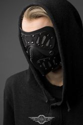 Traitor leather mask by LahmatTea