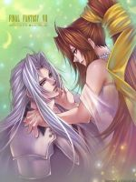 Lucrecia and Sephiroth...2 by roman-ranman