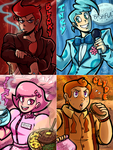 Ghost Gang (Humanized) by Toon-O-Clock