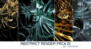 Abstract Render Pack 01 by aarora